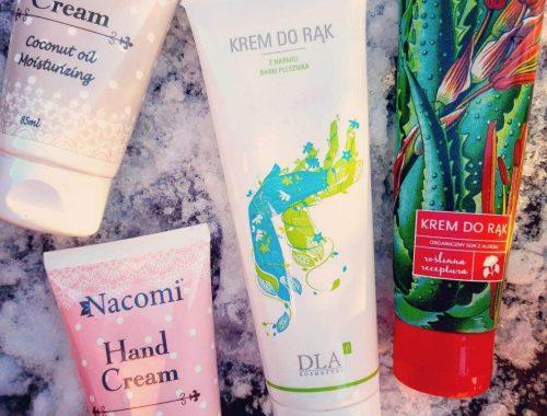 kremy do rąk na zimę - DLA Kosmetyki Nacomi Aloesove