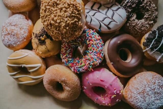 niezdrowe jedzenie - słodycze
