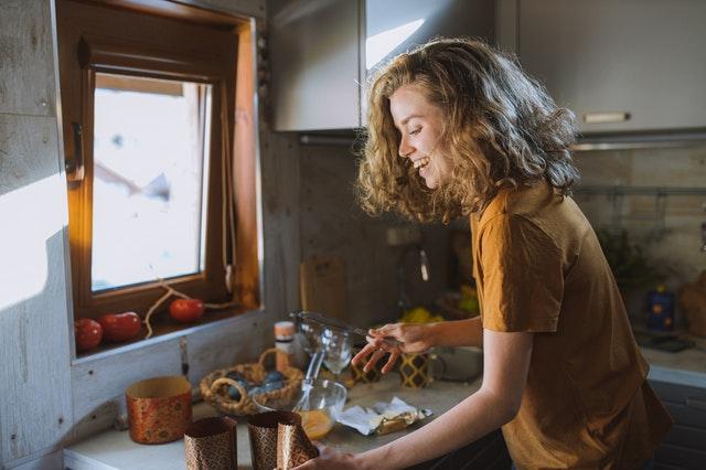 zdrowe odżywianie - przygotowywanie posiłków samodzielnie