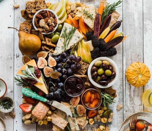 zdrowe odżywianie - warzywa i owoce