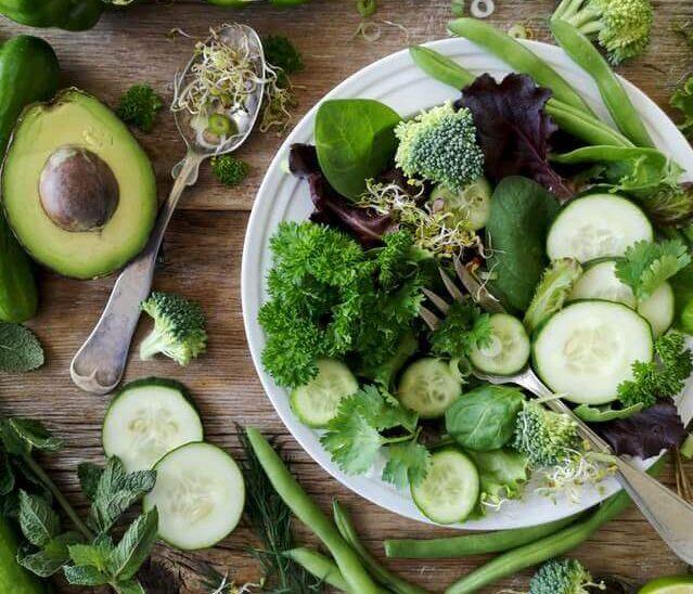 zdrowe zakupy - warzywa zielone