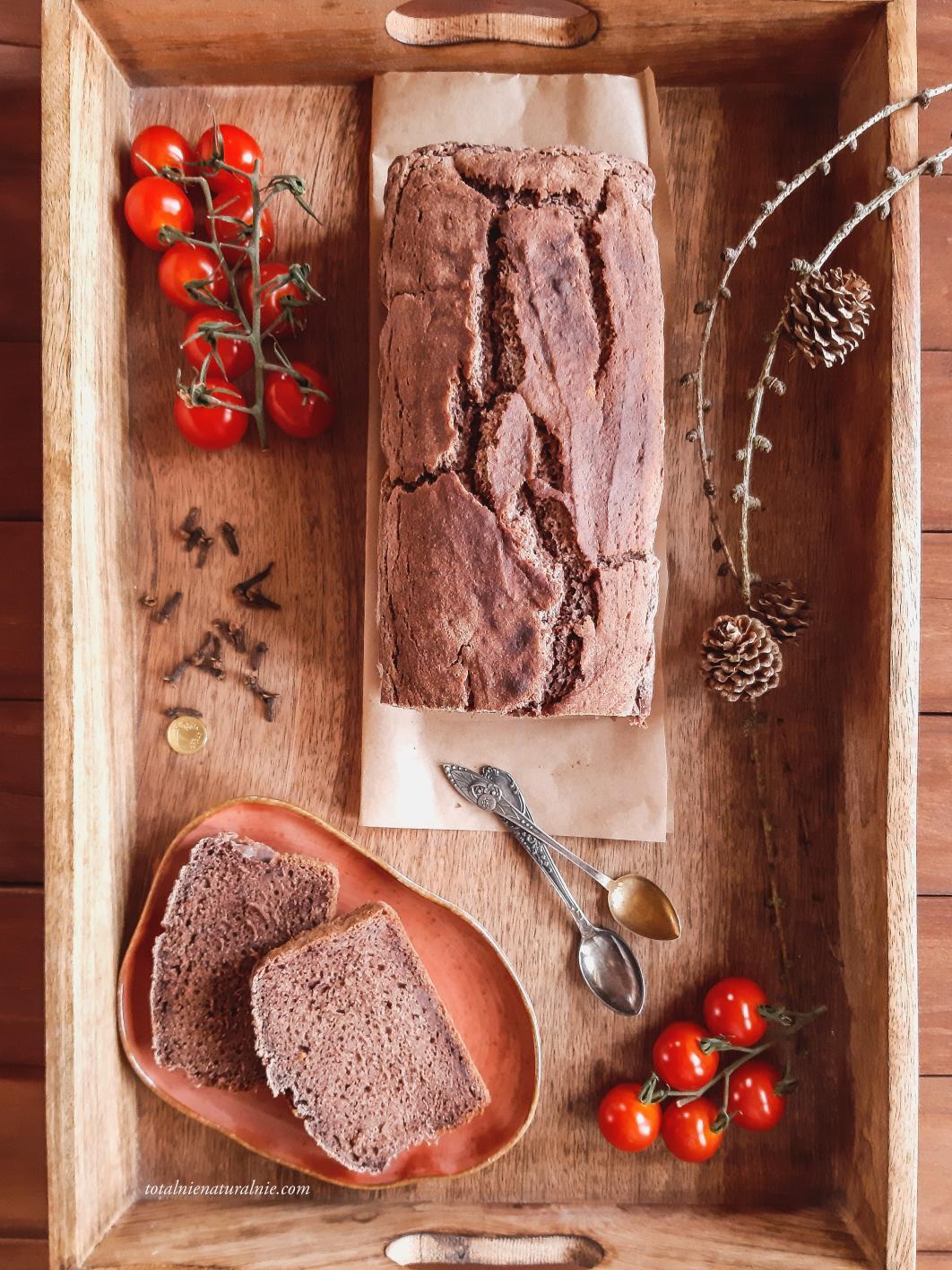 piernik pomidorowy - wegański i bezglutenowy