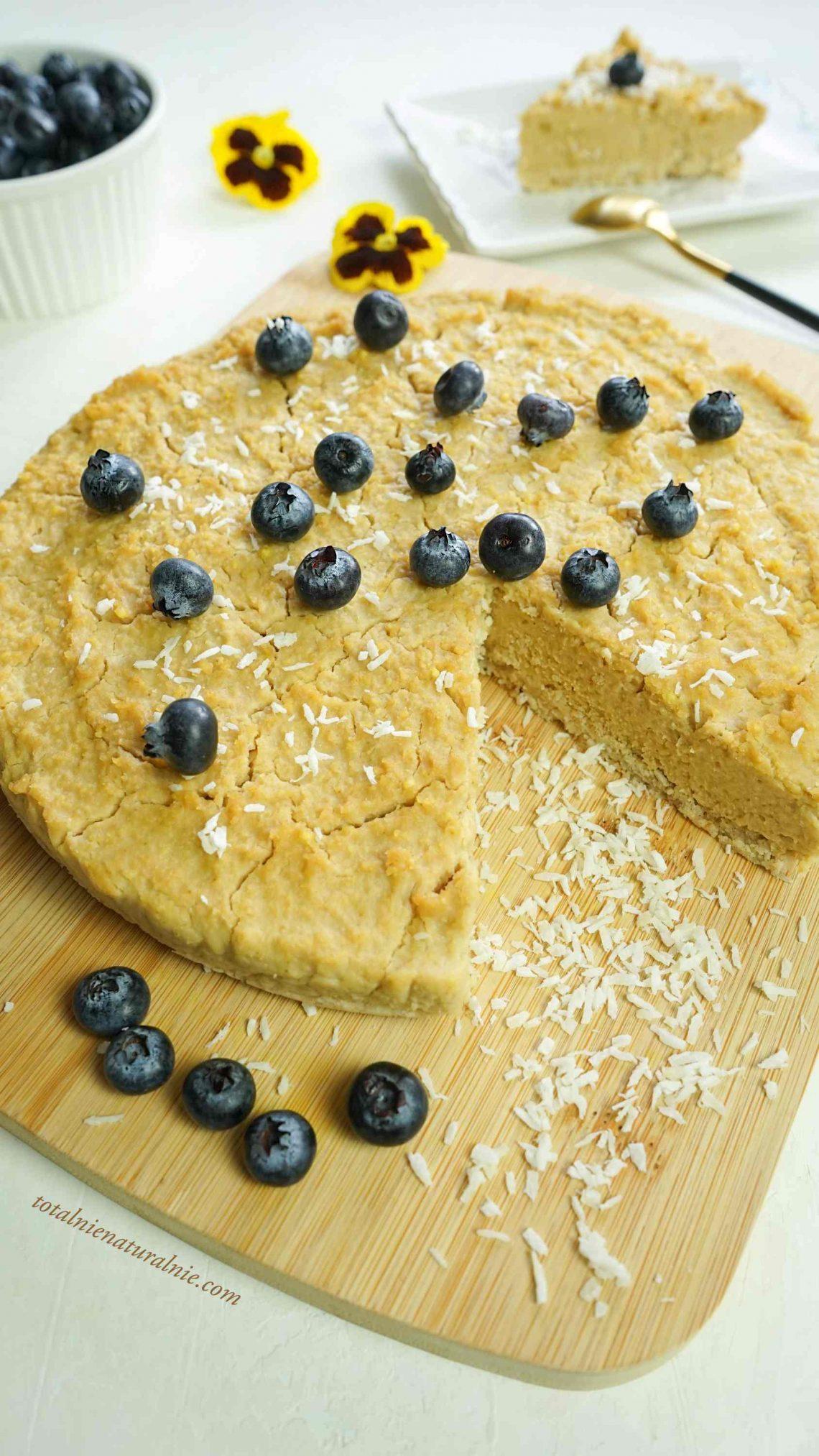 sernik jaglany - ciasto bez pieczenia